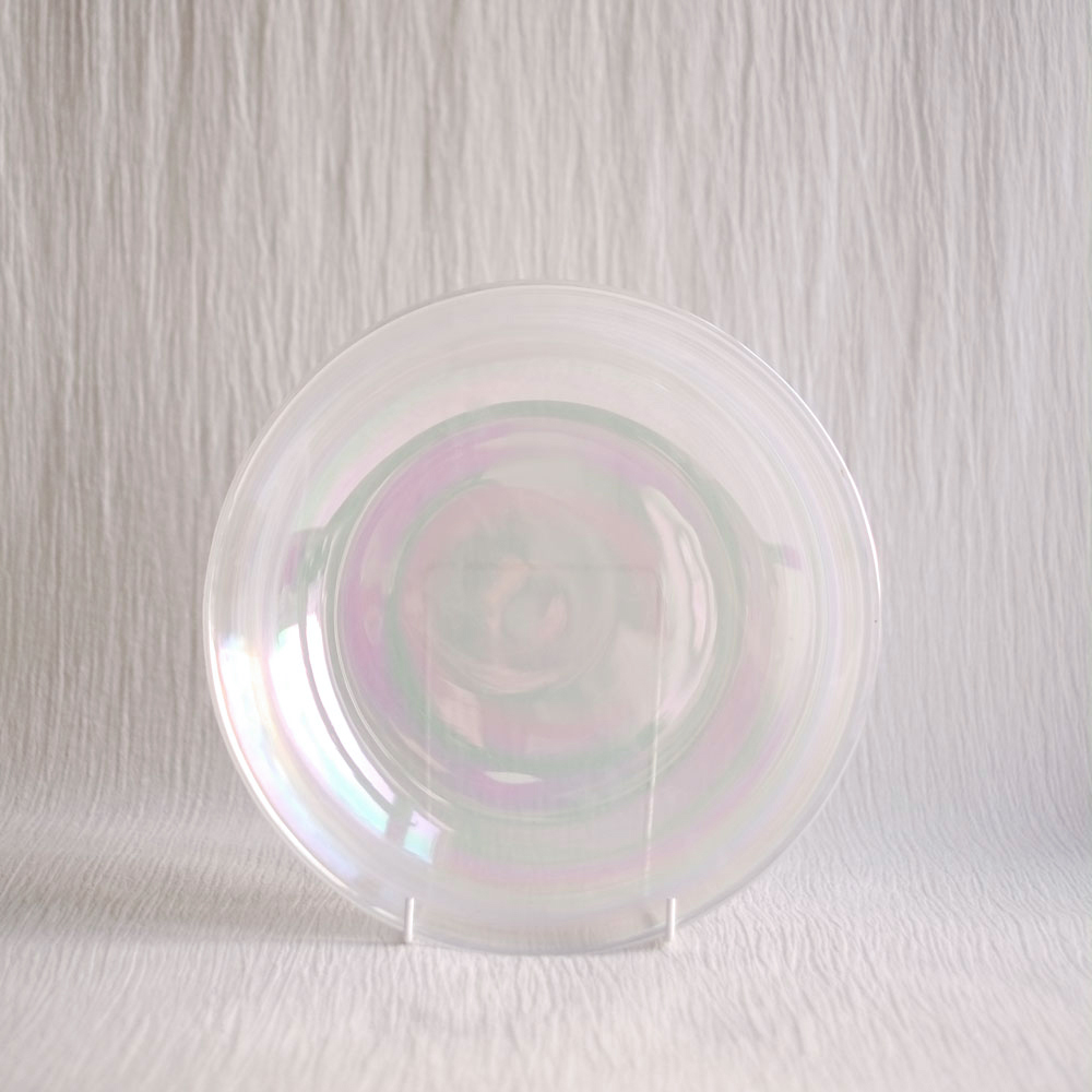 OPALESCENT 'BUBBLE' GLASS BOWL
