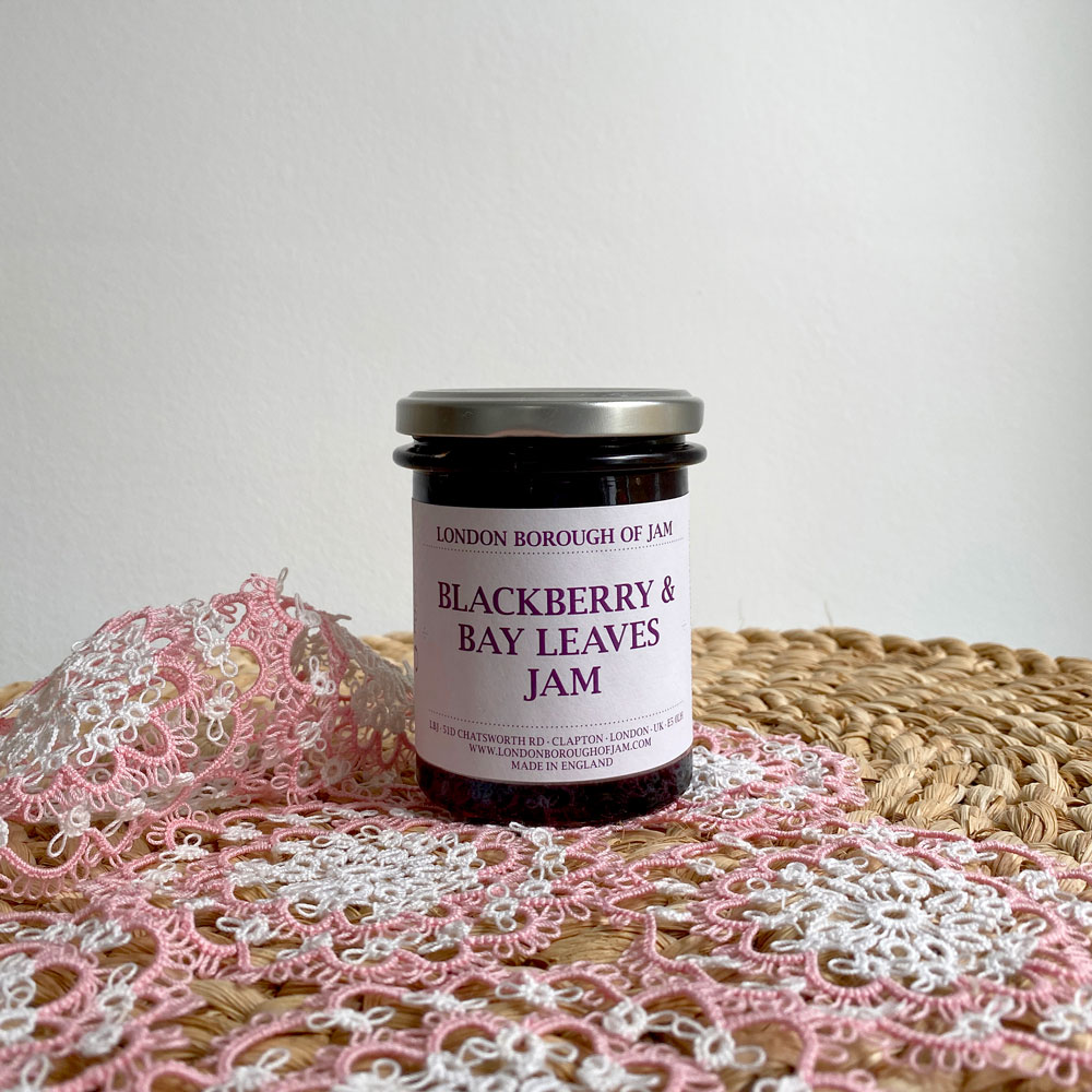 BLACKBERRY & BAY LEAVES JAM