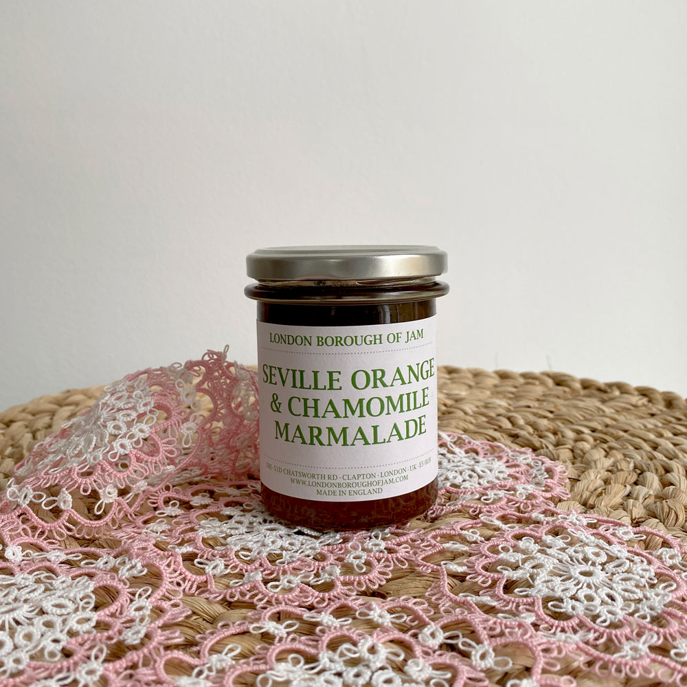 SEVILLE ORANGE & CHAMOMILE JAM
