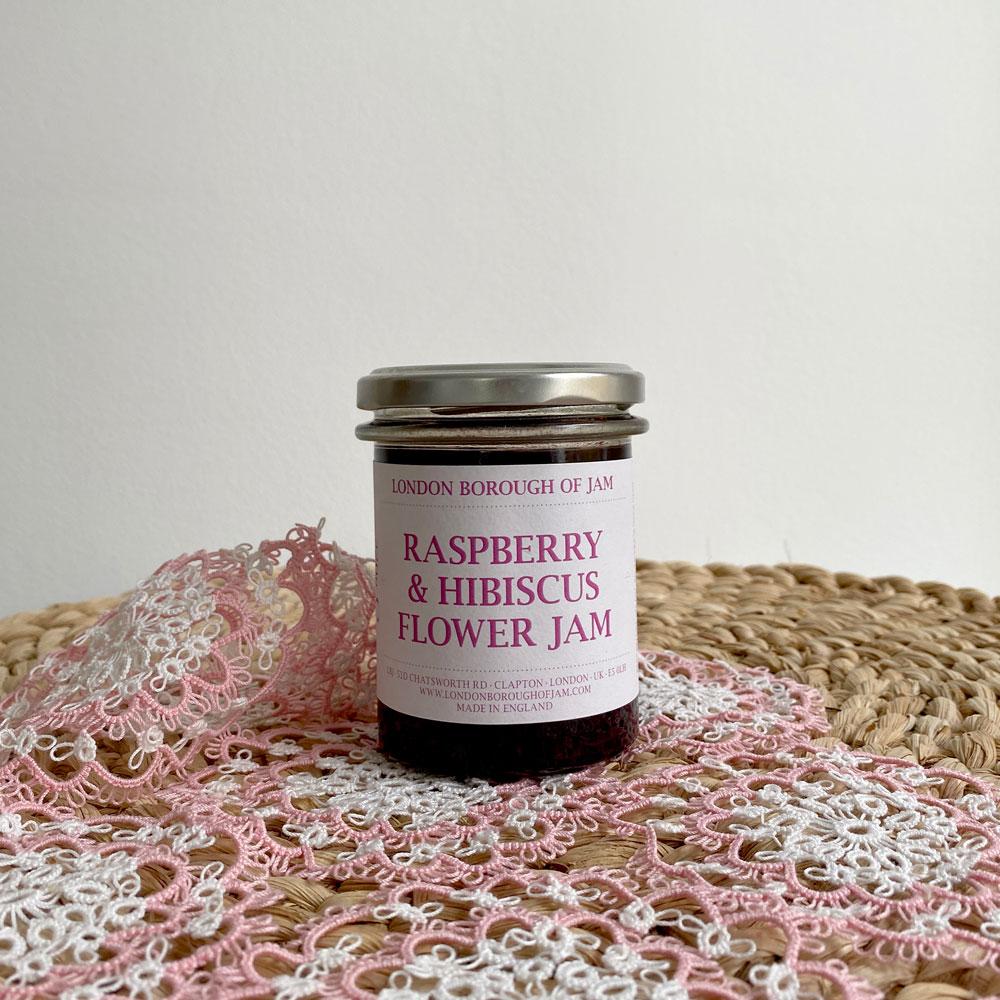 RASPBERRY & HIBISCUS FLOWER JAM