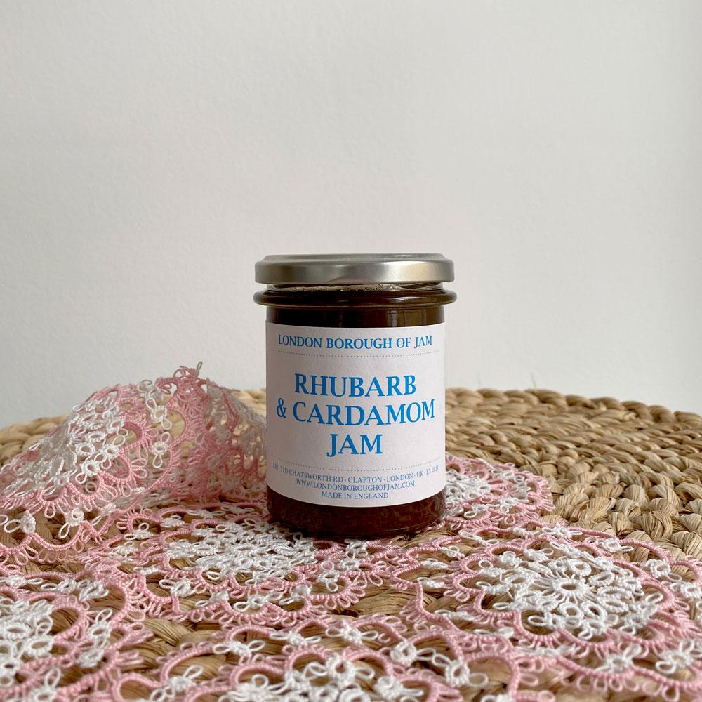 RHUBARB & CARDAMOM JAM