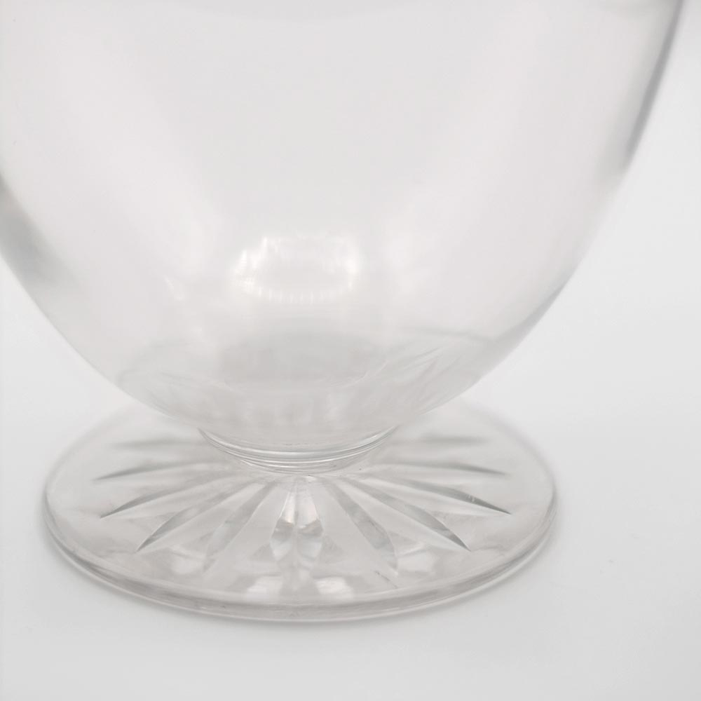 ELEGANT CUT GLASS DECANTER