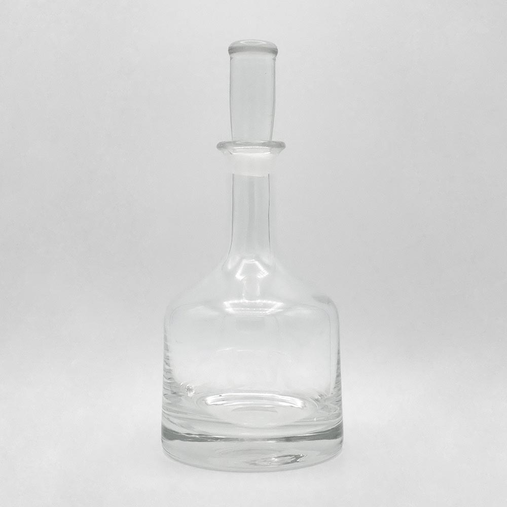 CONTEMPORARY GLASS DECANTER