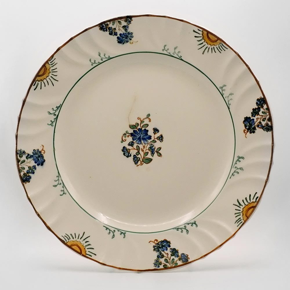 DECORATIVE HAND PAINTED SERVING PLATTER